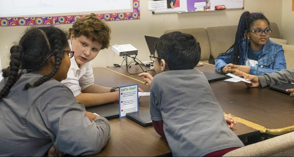 Kids get Social Emotional Learning with Respectful Ways SEL curriculum