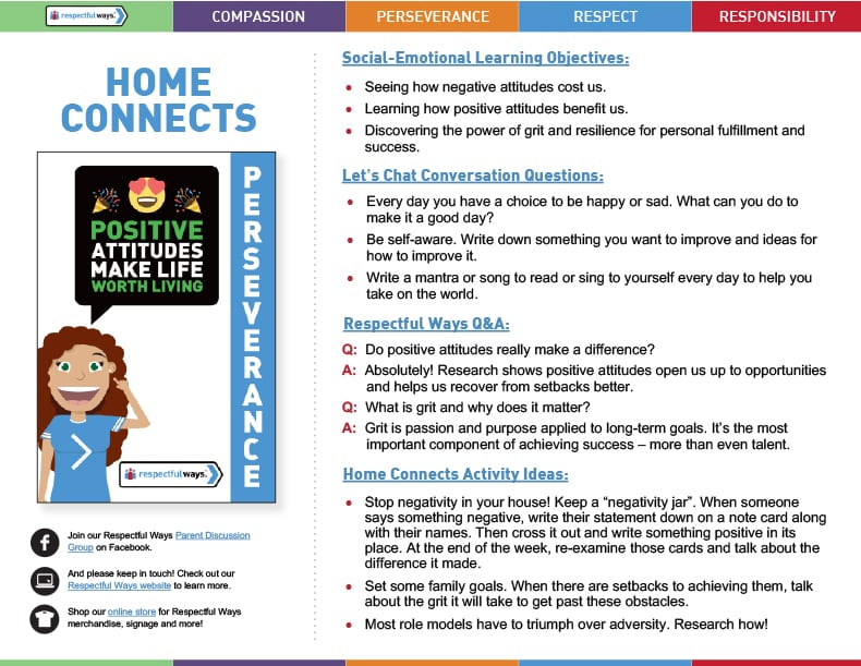 Home Connects for Grades 6-12