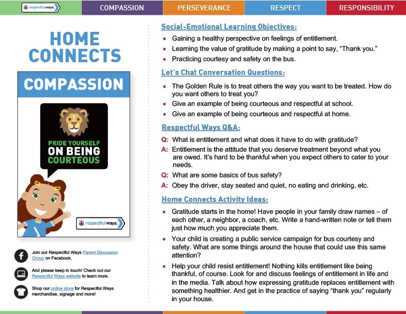 Home Connects for Grades 3-5