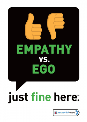 Empathy vs. Ego