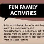 Fun Famiy Activities - Respectful Ways