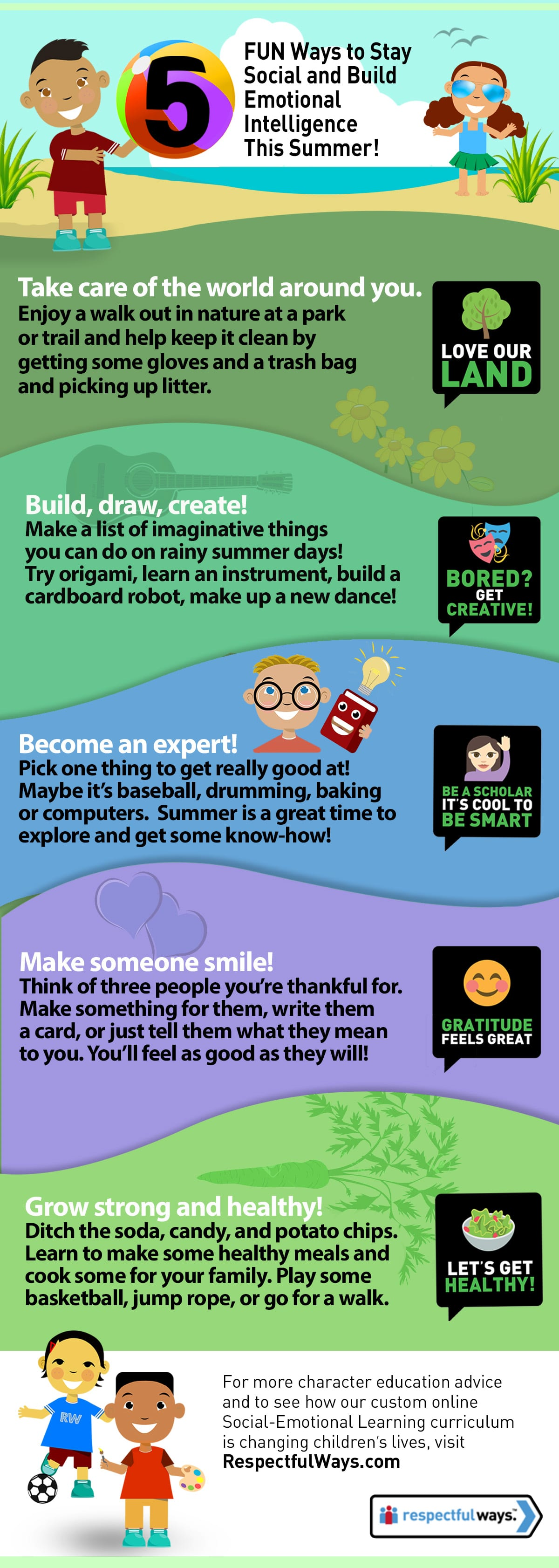 5 Fun Ways To Keep Kids Social Skills Fresh Print This Summer Guide Respectful Ways